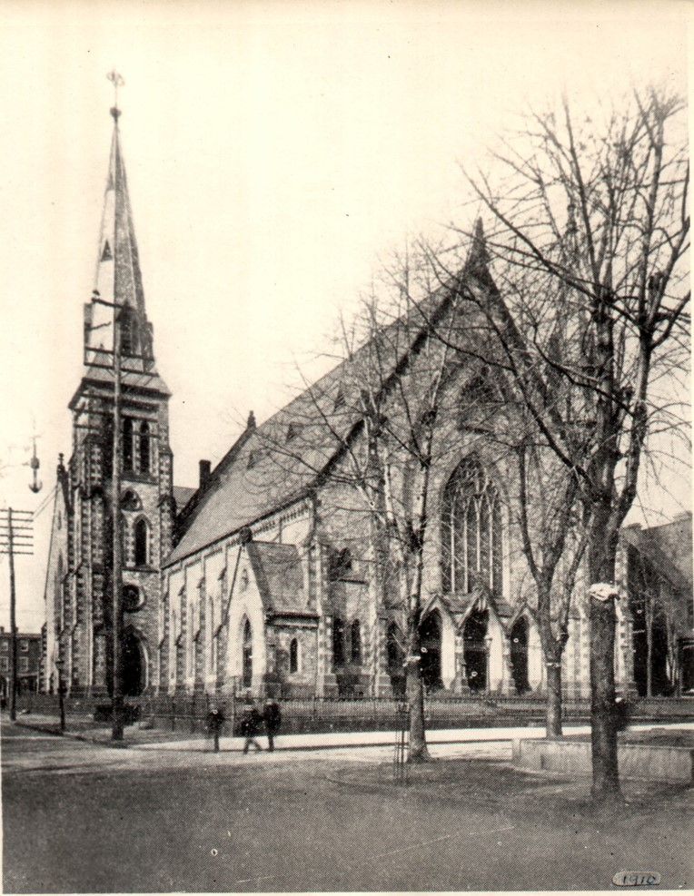 Grace Church from 9th Street in 1910
