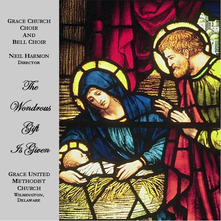 "Purchase ""A Wondrous Gift is given"" today! - Each copy costs $15 (plus shipping and handling) of Grace Choir's first CD recording (2008) and can be obtained by contacting the church office, (302) 655-8847."