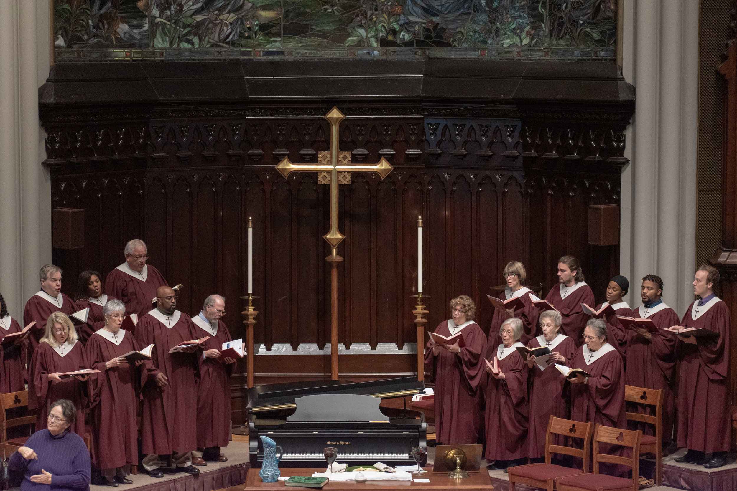 MUSIC MINISTRY - Choir, Handbells, instrumental soloists, wonderful organ playing—we love music at Grace! Learn more about many opportunities for music at Grace. Contact Michael@gracechurchum.org