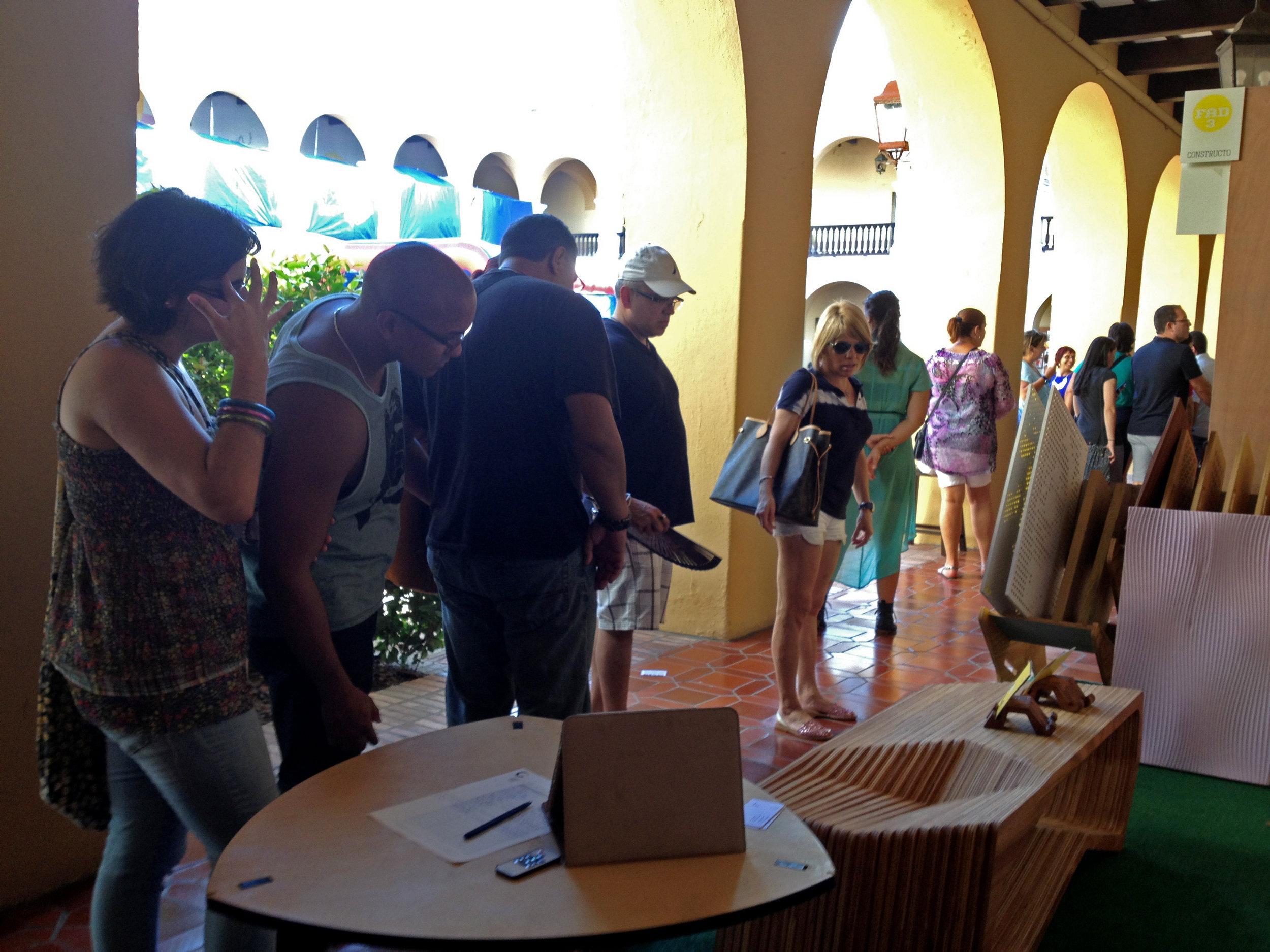 Feria de Arte y Diseño, Galería Nacional. 2013