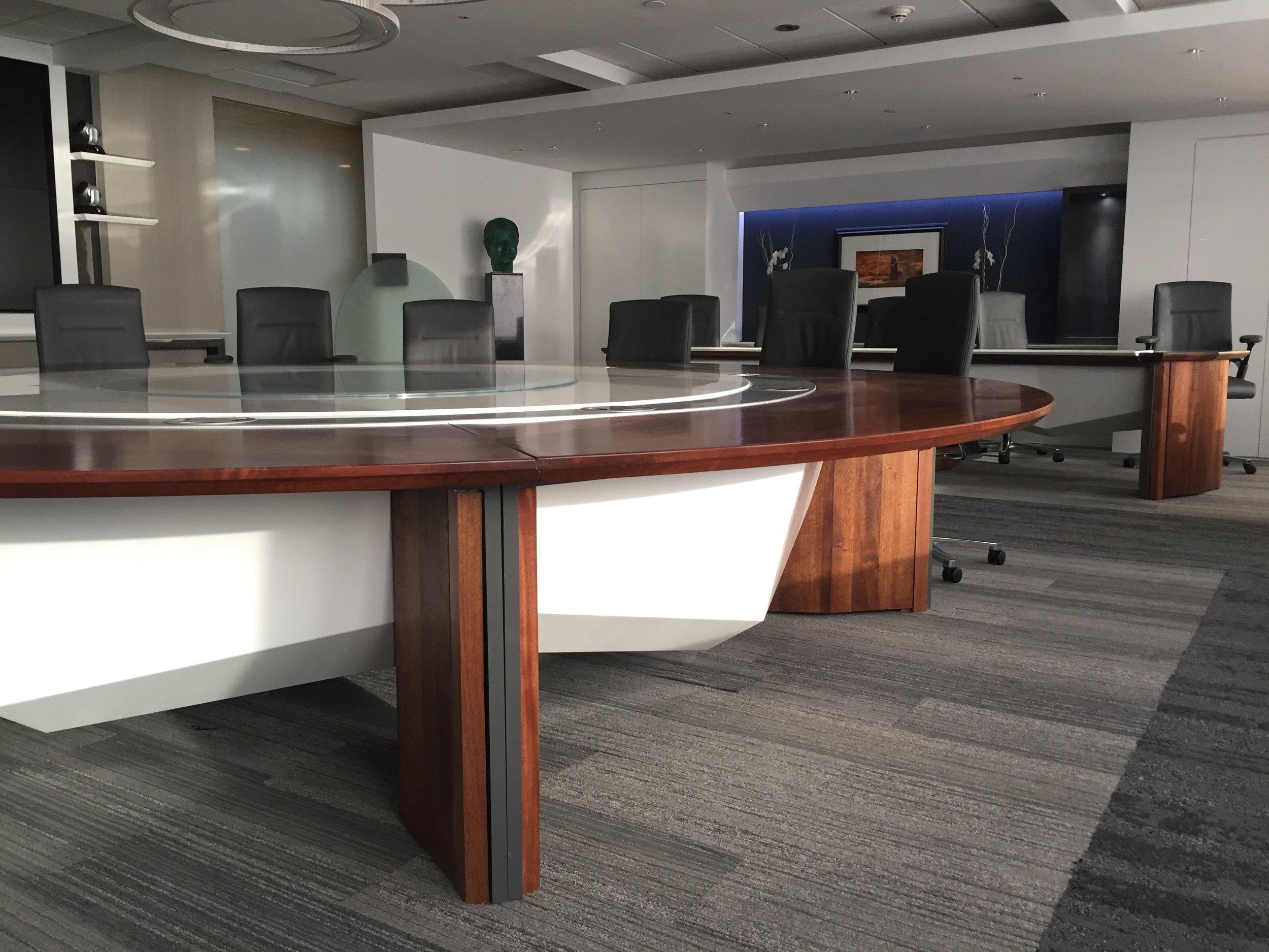 Banco Popular de Puerto Rico, Board of Directors' conference room. 2017