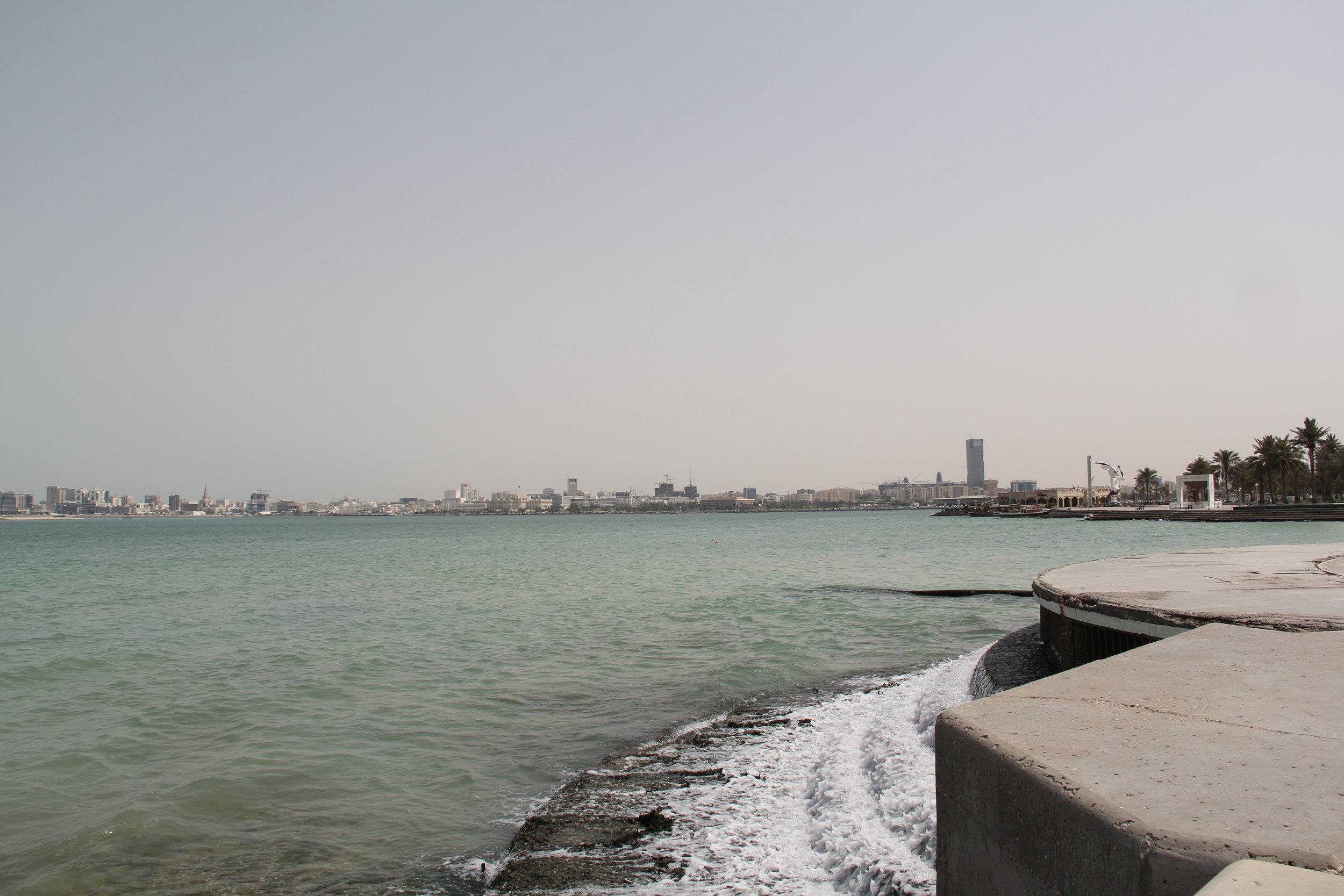 Al Corniche, Doha, Qatar. Taken by: Tyanna LC