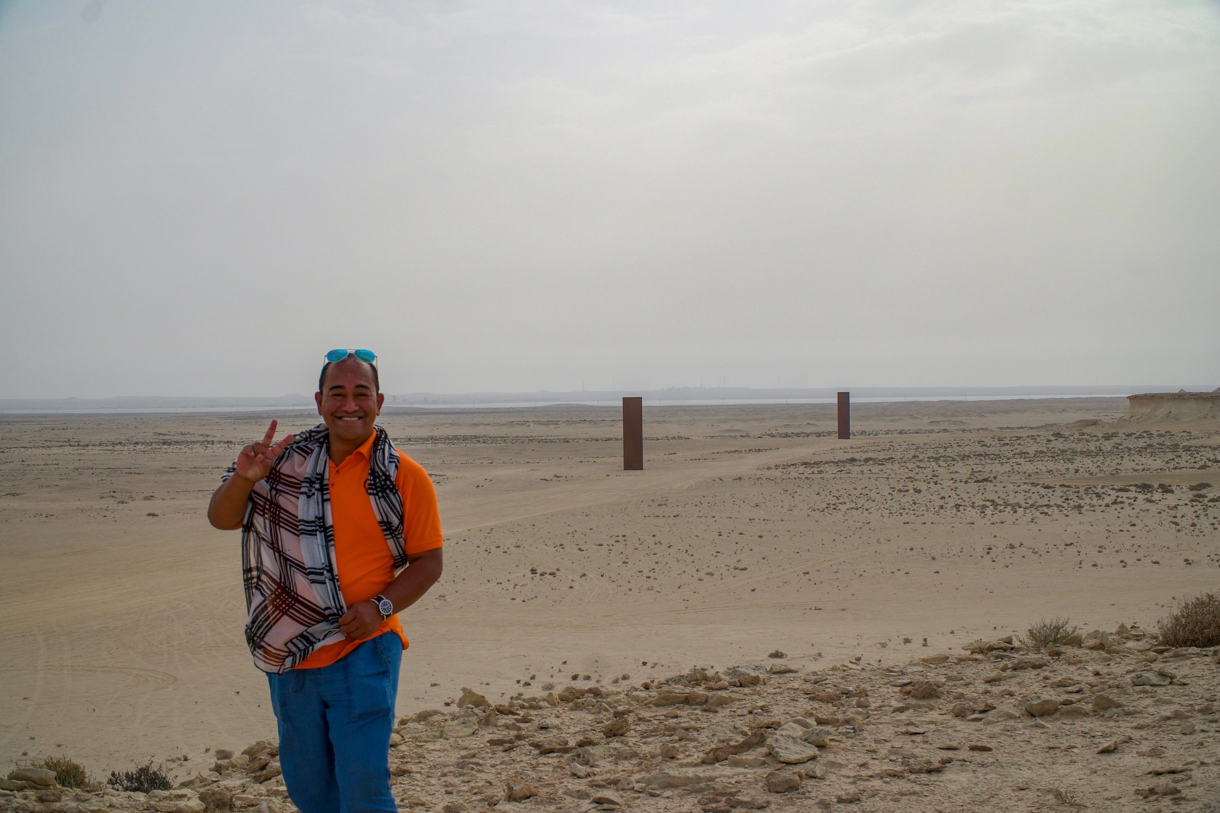 J.Lo the Tour Guide, Conquering Fears. East West West East, Zekreet, Qatar.