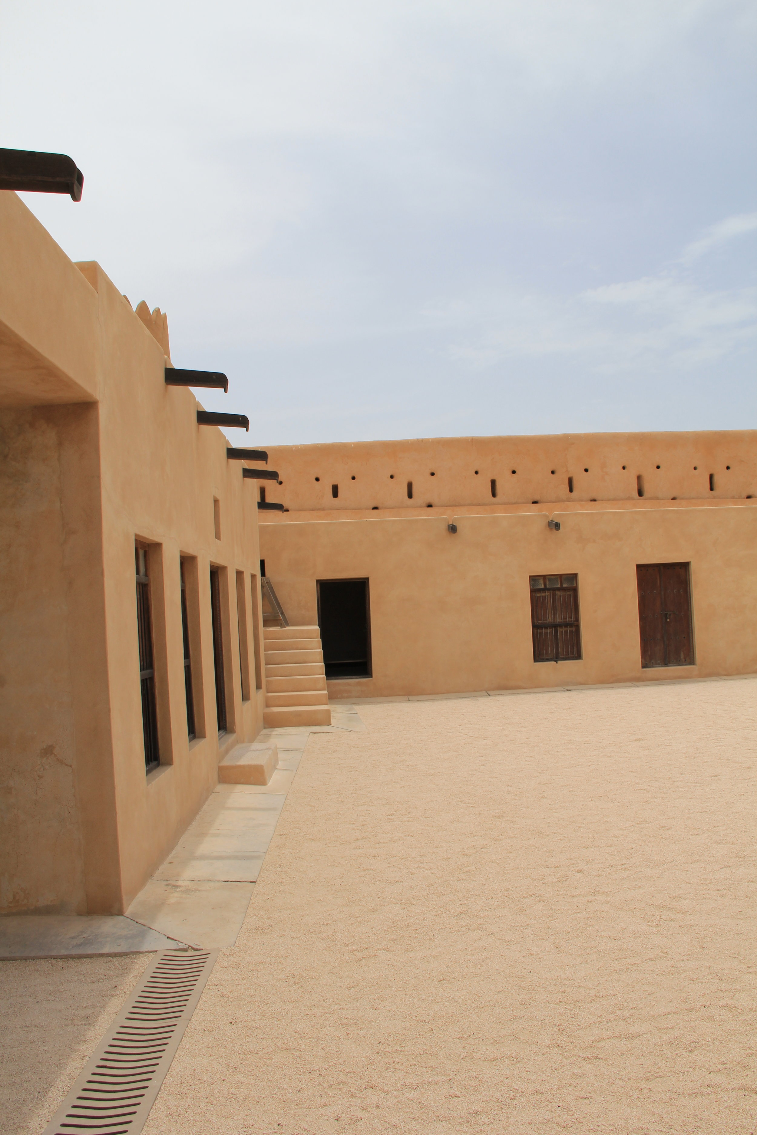 Al Zubara Fort, Al Zubara, Qatar. Taken by Tyanna LC