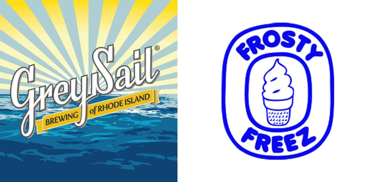 GREY SAIL BREWING OF RI  /  FROSTY FREEZE