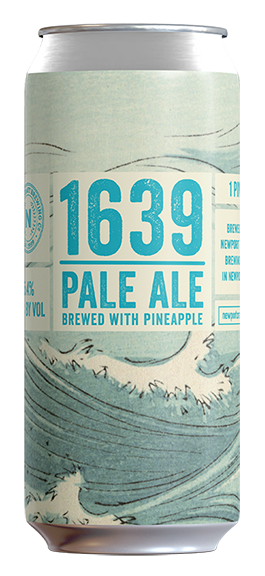 1639 - Style: Pale aleABV: 5.4%Notes: Pale Ale brewed with pineapple
