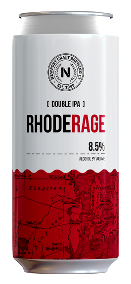 Rhode Rage - Style: Double IPAABV: 8.5%Notes: Hazy Double IPA brewed with Mosaic & Citra