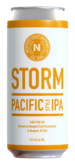 "Storm Pacific-Style IPA - Style: West Coast IPAABV: 6.5%Notes: Brewed with a blend of Columbus, Centennial, Citra & Simcoe hops, this beer is what Brewmaster Derek Luke claims will be his next ""go-to-beer"". It has the classic West Coast pine but is well-balanced.Available in cans or bottles"