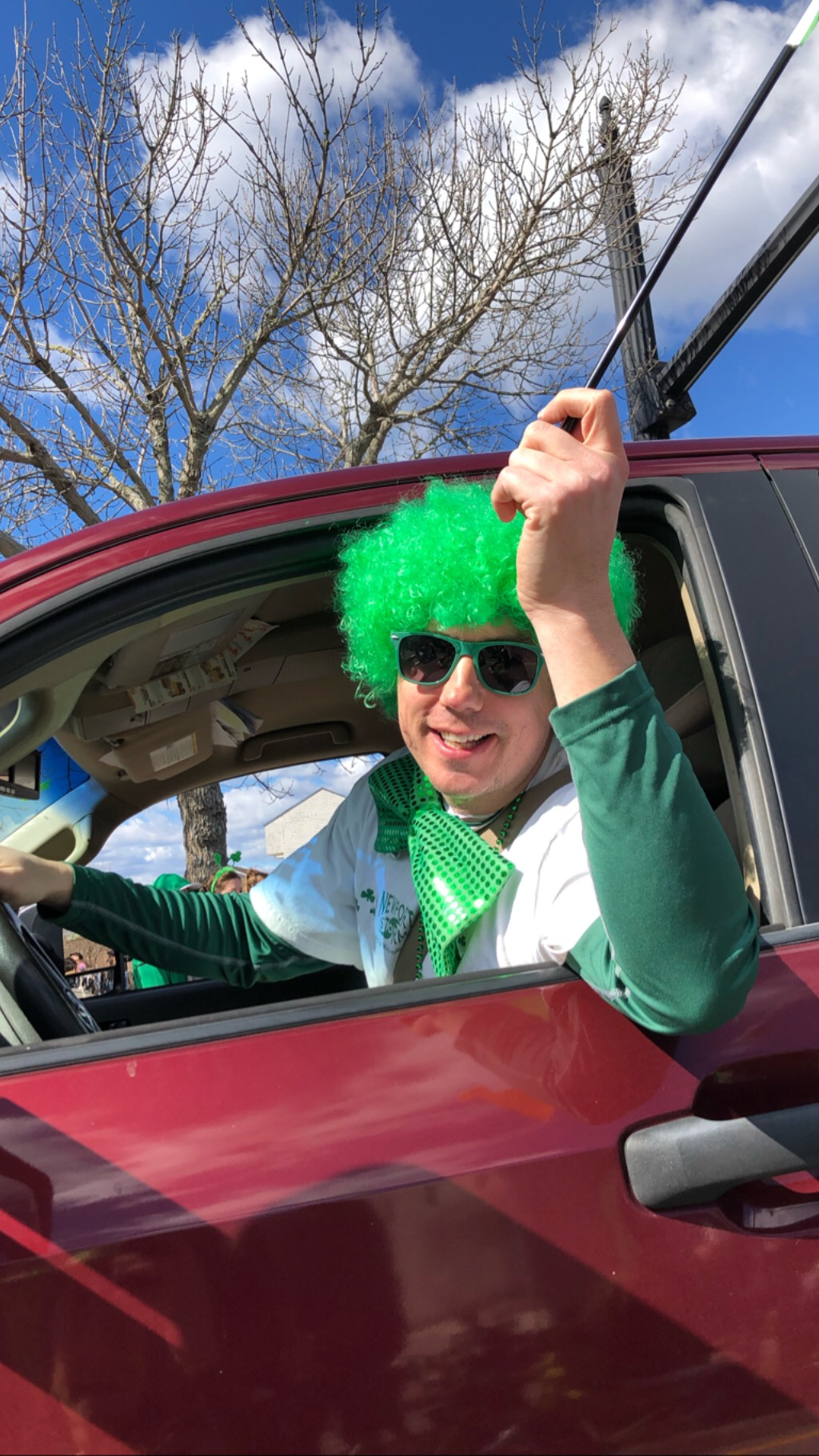 Brent in the St. Patrick's Day Parade