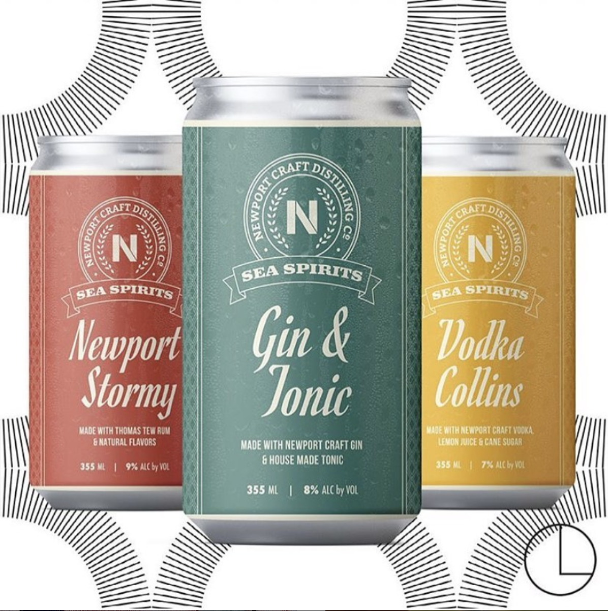 Newport Craft Brewing & Distilling canned cocktails
