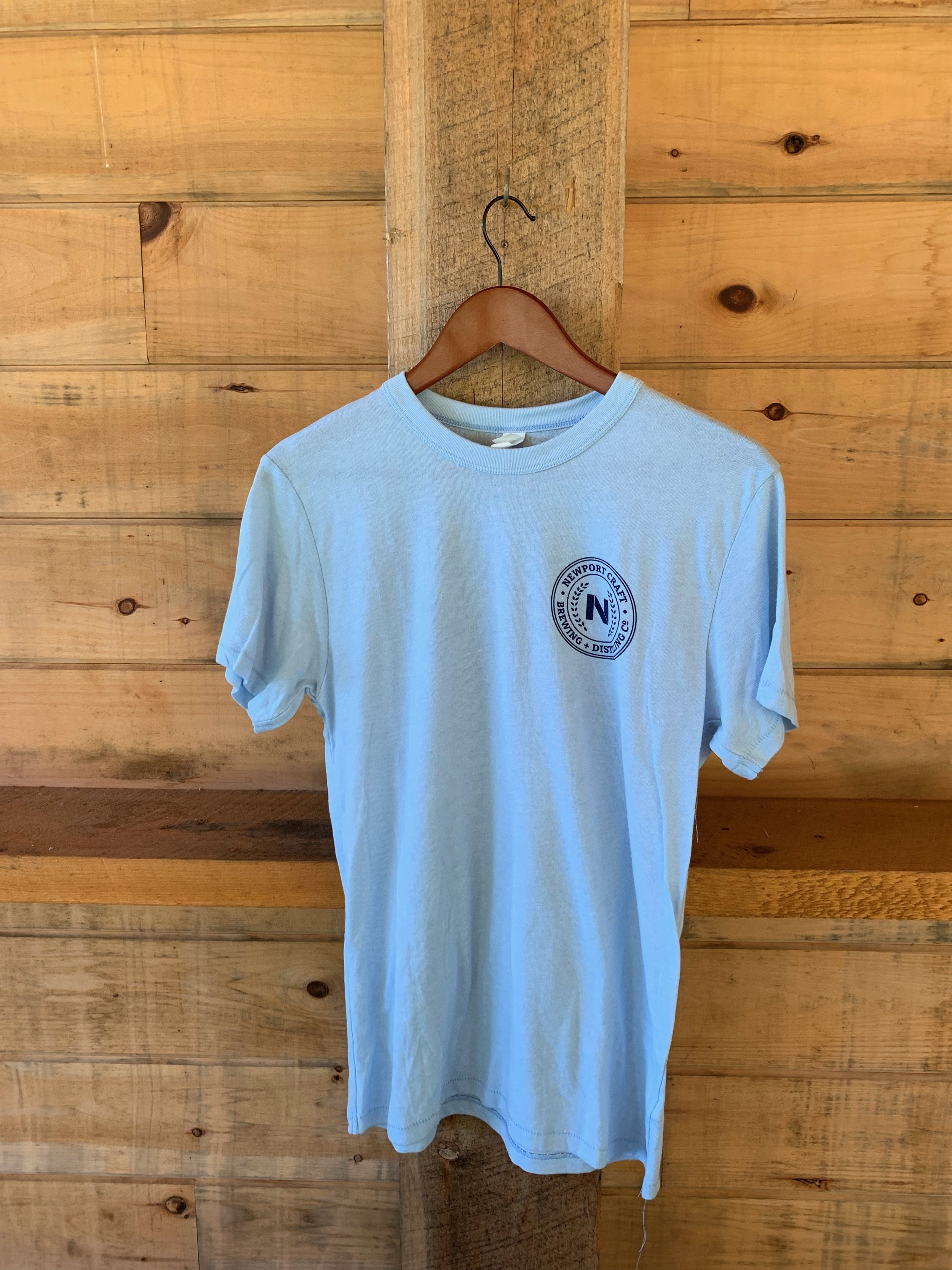 Light blue t-shirt $20 - Available in XS-XXL.