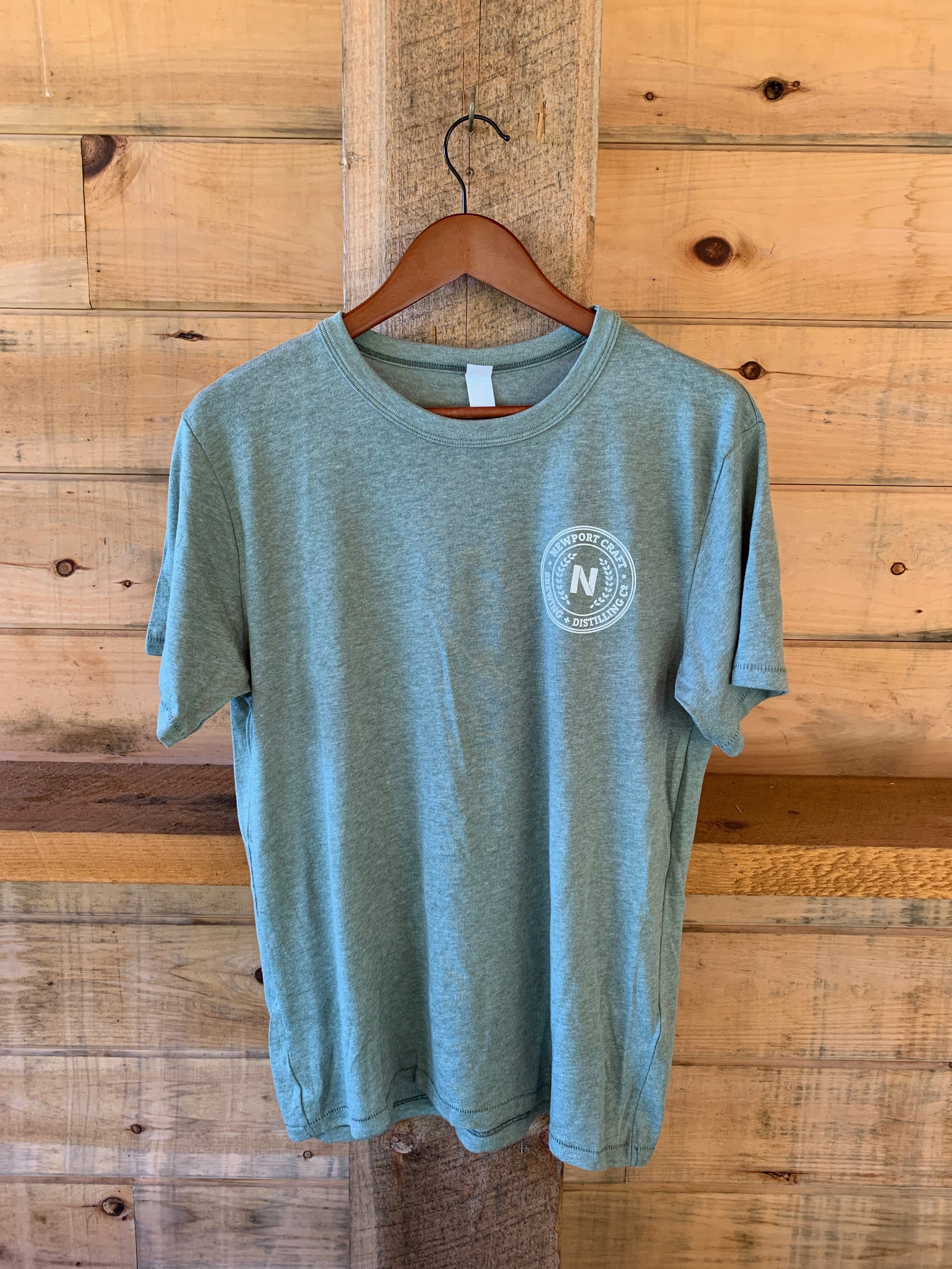 Light green t-shirt $20 - Available in XS-XXL.
