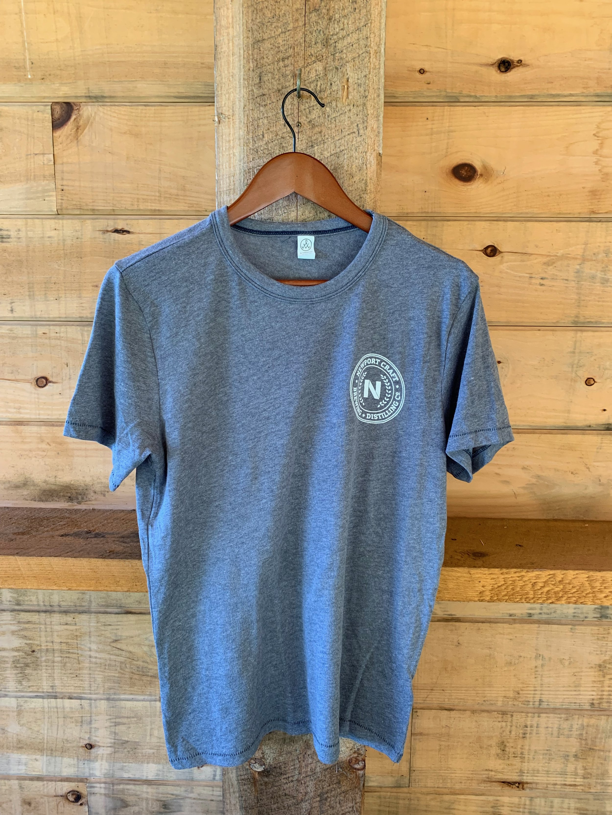 grey t-shirt $20 - Available in XS-XXL.