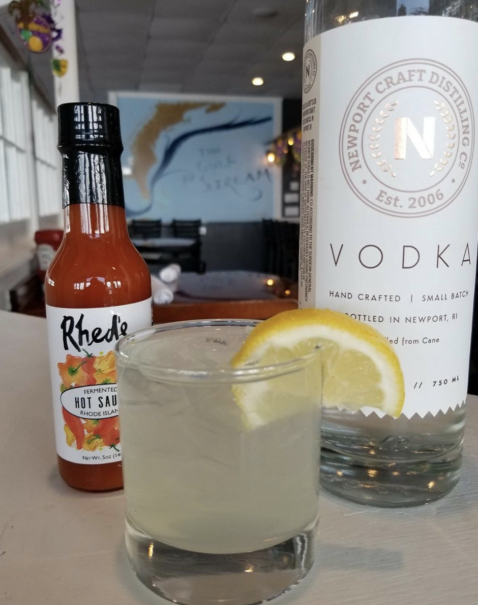 Aquidneck Cajun Lemonade - Made with Newport Craft Vodka