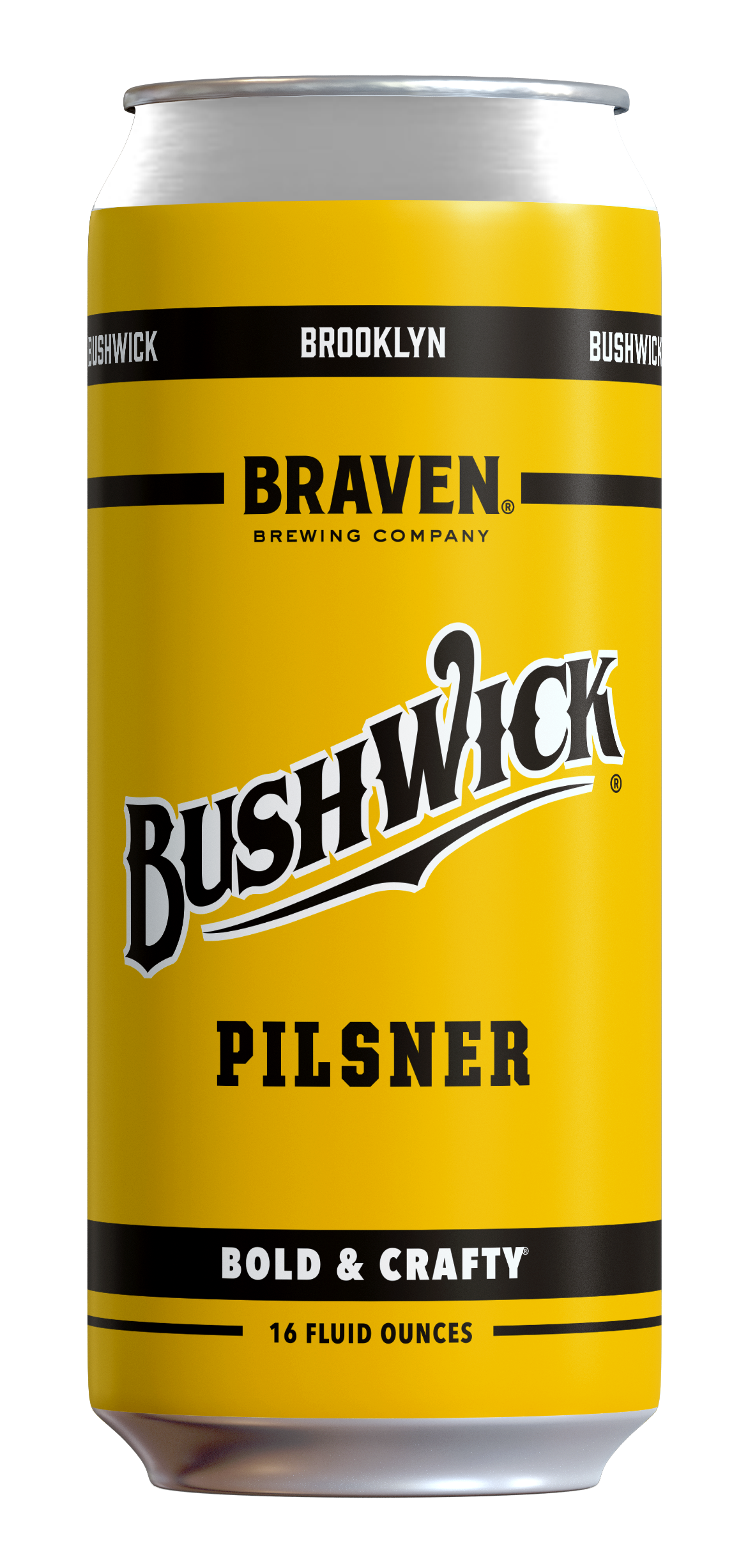 Bushwick Pilsner - Style: PilsnerABV: 5.5%Notes: Based on the pilsners brewed in Bushwick for over 100 years, Bushwick Pilsner is the return of the style that made the neighborhood famous.