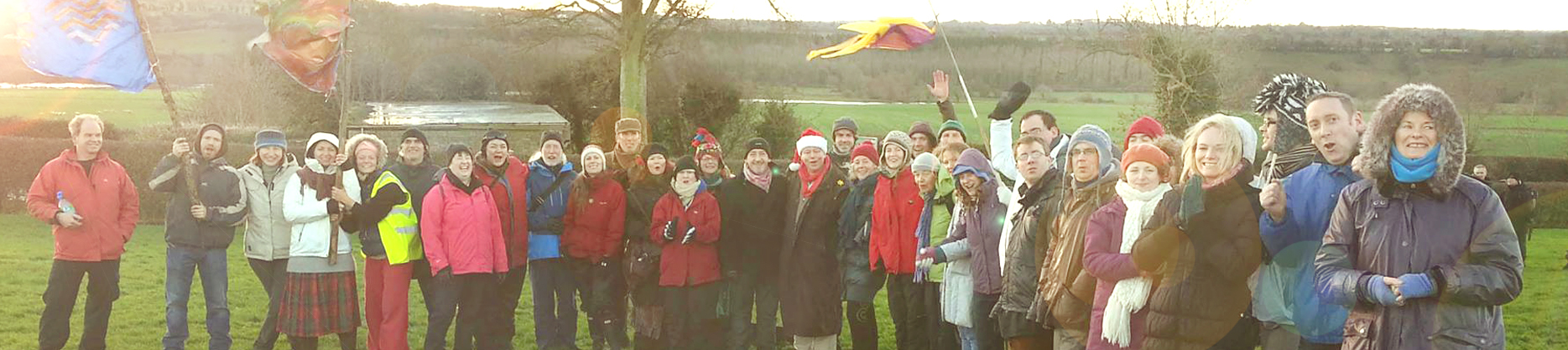WinterSolstice.ie  2013 Group Photo at Newgrange Solstice Sunrise