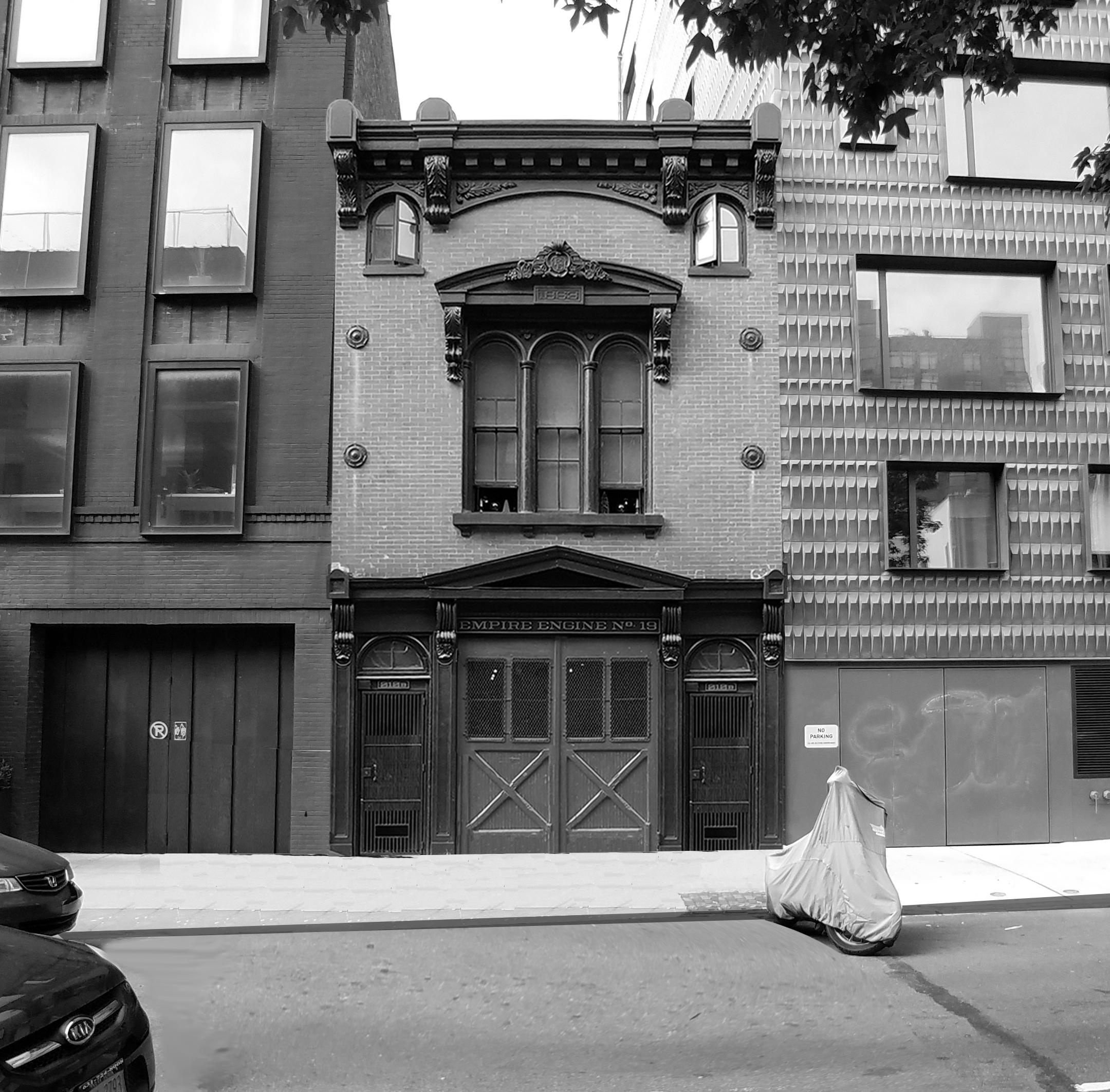 Firehouse in Brooklyn