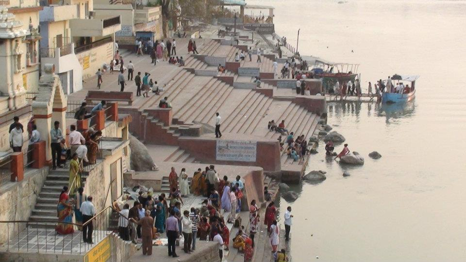 The River Ganges in Rishikesh