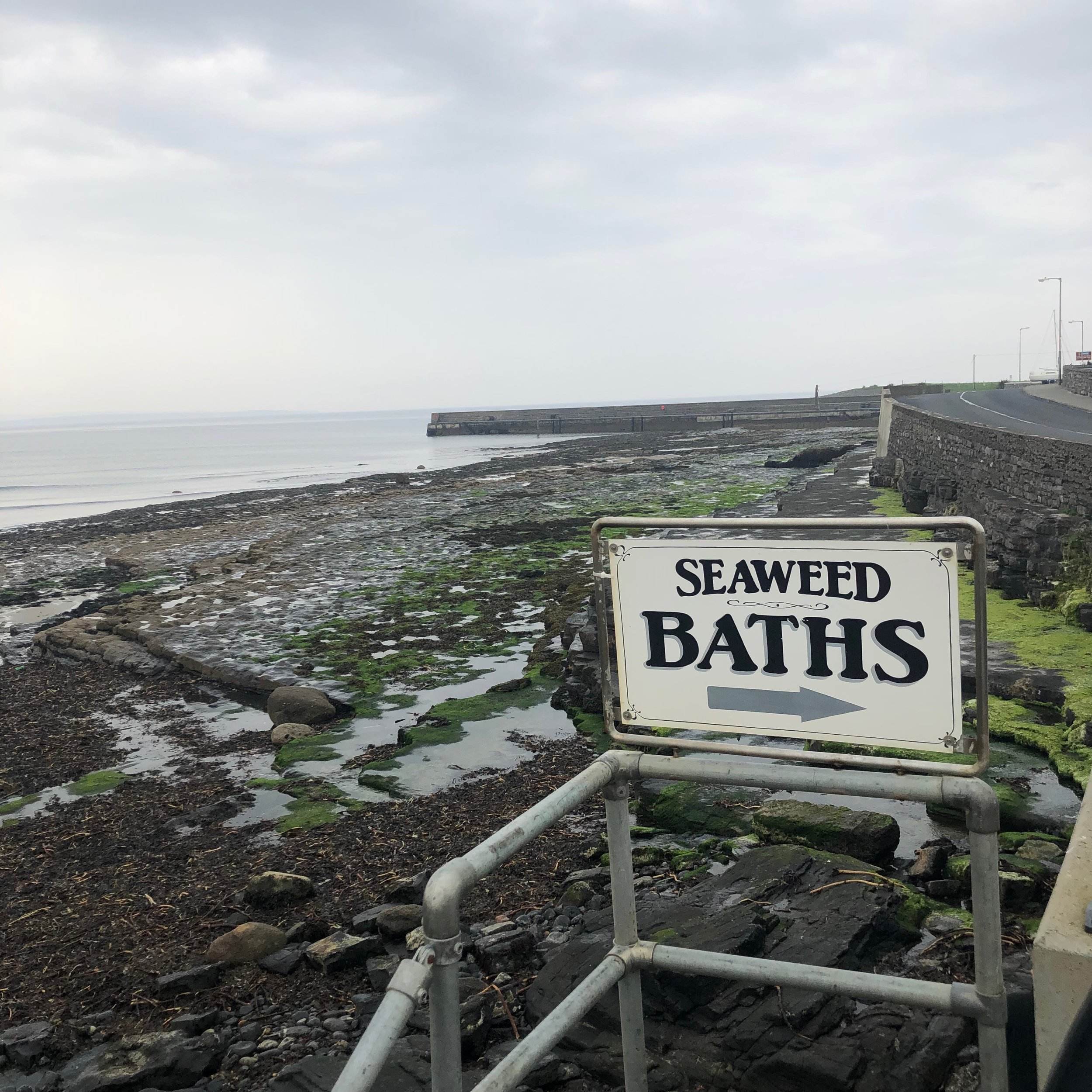 The Kilcullen Seaweed Baths at Enniscrone