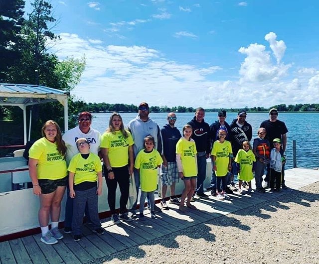 Kids fishing day on Mille lacs was a success! . . . . . #kidsfishing #terminatoroutdoors #terminated #getoutthere #millelacs #fishingminneosta #youthoutdoors #kidsfishingday #fishingforkids #fishing #follow