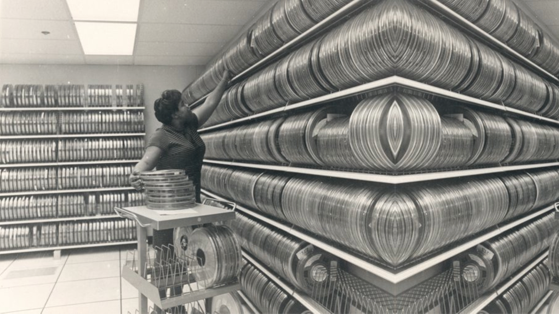 NDOC Magnetic Tape Library