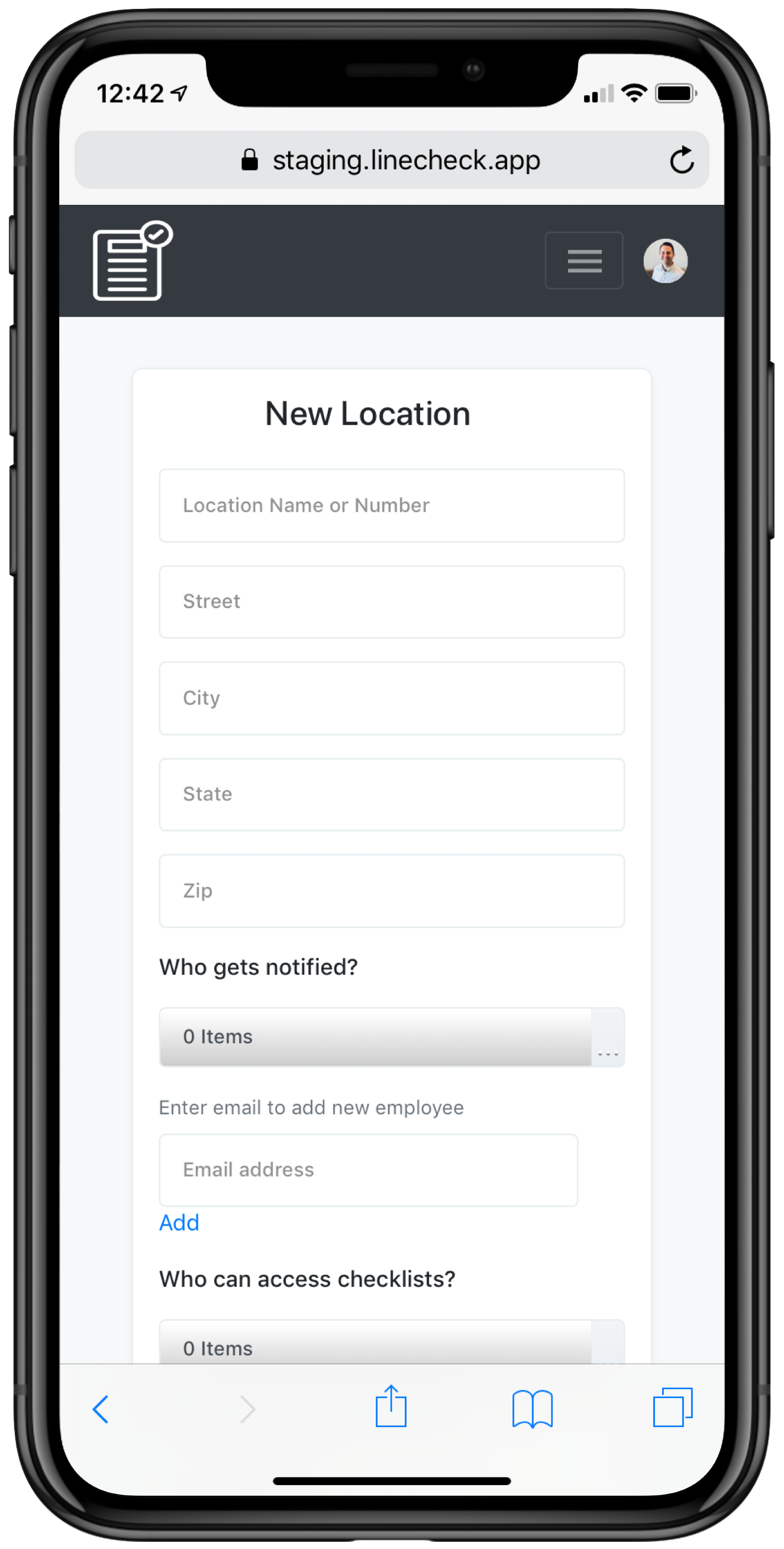 Assign who gets notified of checklist results. - If a checklist is not done on time, the right people know about it, so they can address it in real time. Plus, you can authorize access for multiple managers and employees at each restaurant.Schedule a demo.