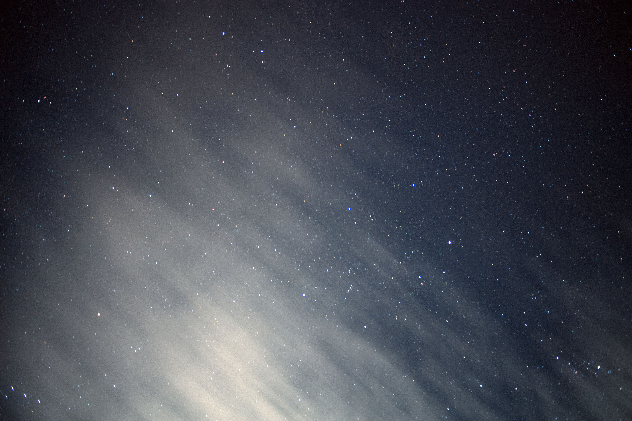 Astronomers worry that light pollution from construction lights will affect their work.