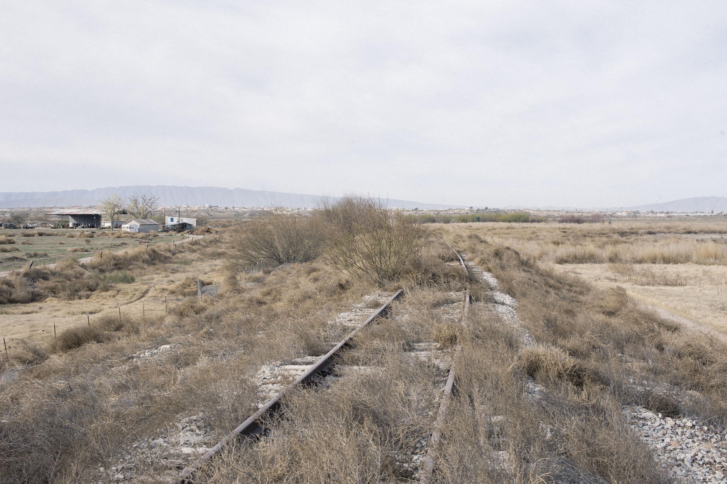 Presidio, Texas, where the Trans-Pecos Pipeline will cross the Rio Grande.