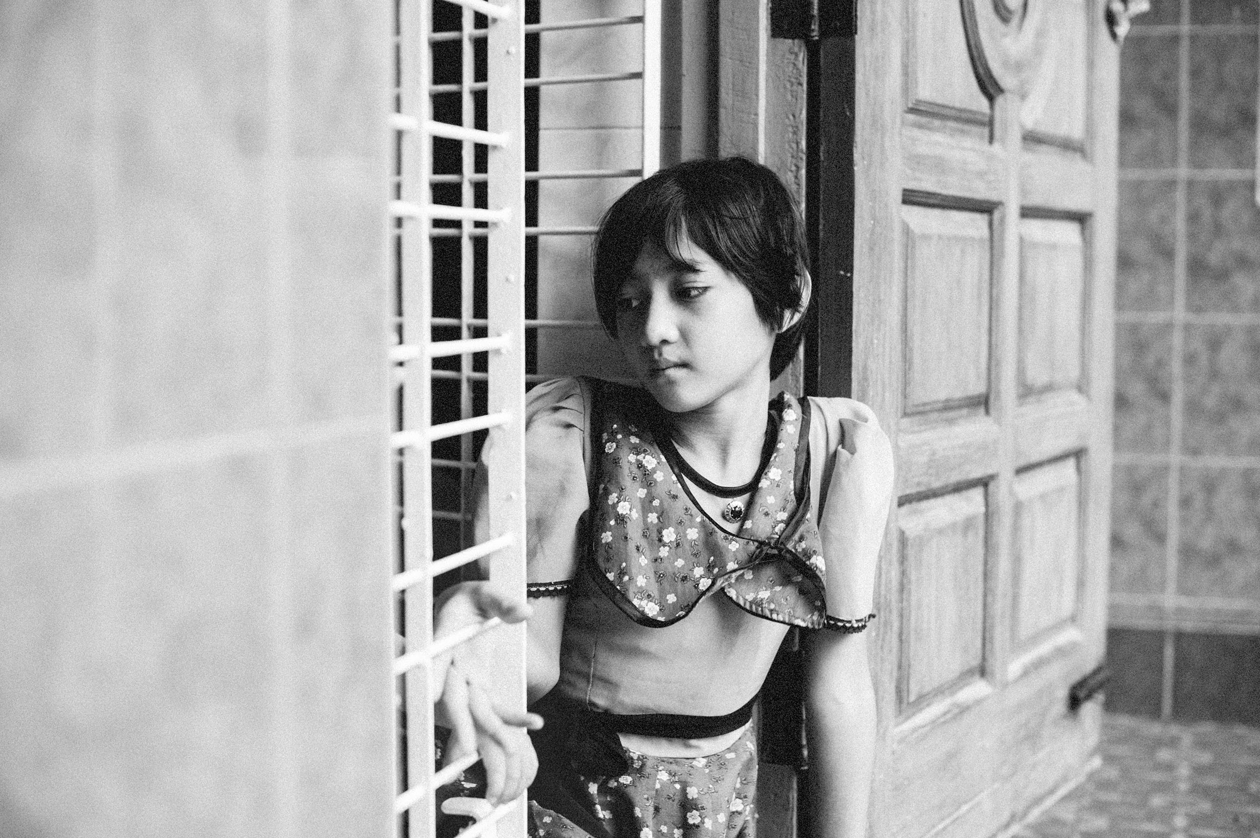 Orphanages fill with children lost during the panic of religious fighting.