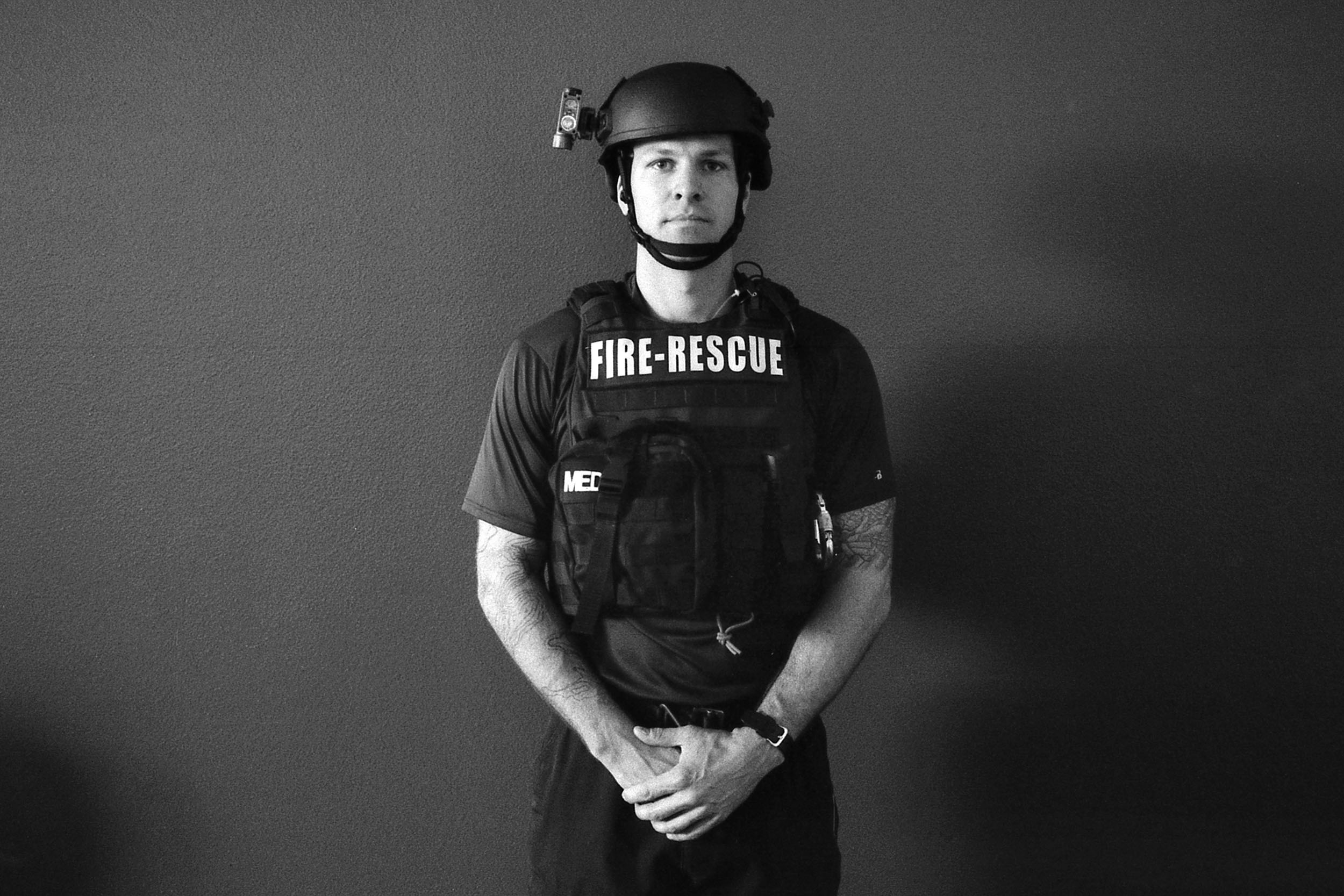 Adam Fry, 34, Tactical Rescue, San Antonio Fire Department, Station 11.