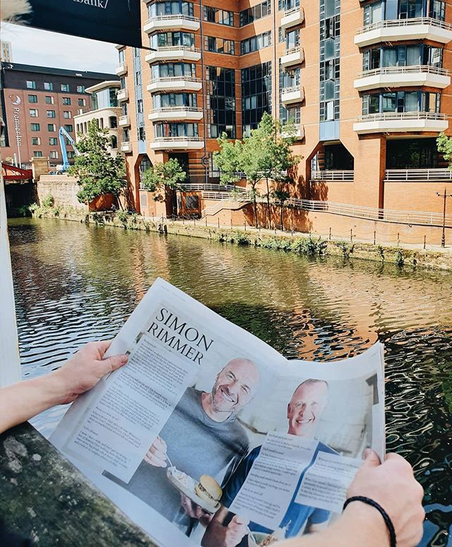 Read our interview with @rimmersimon in print or digital via our website! Print copies are found in your favourite coffee shops across Liverpool and Manchester!