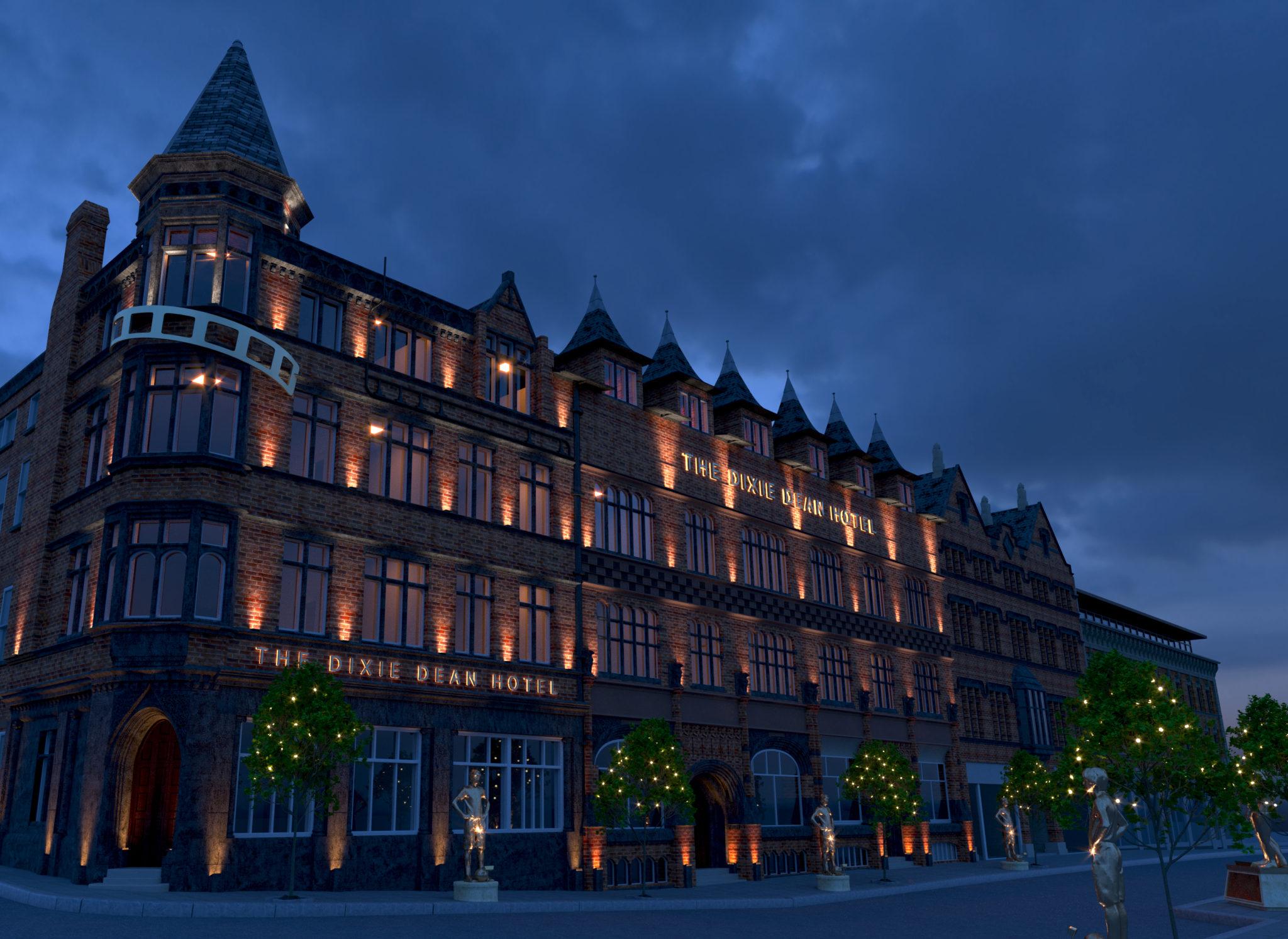 The Dixie Dean Hotel, Liverpool.