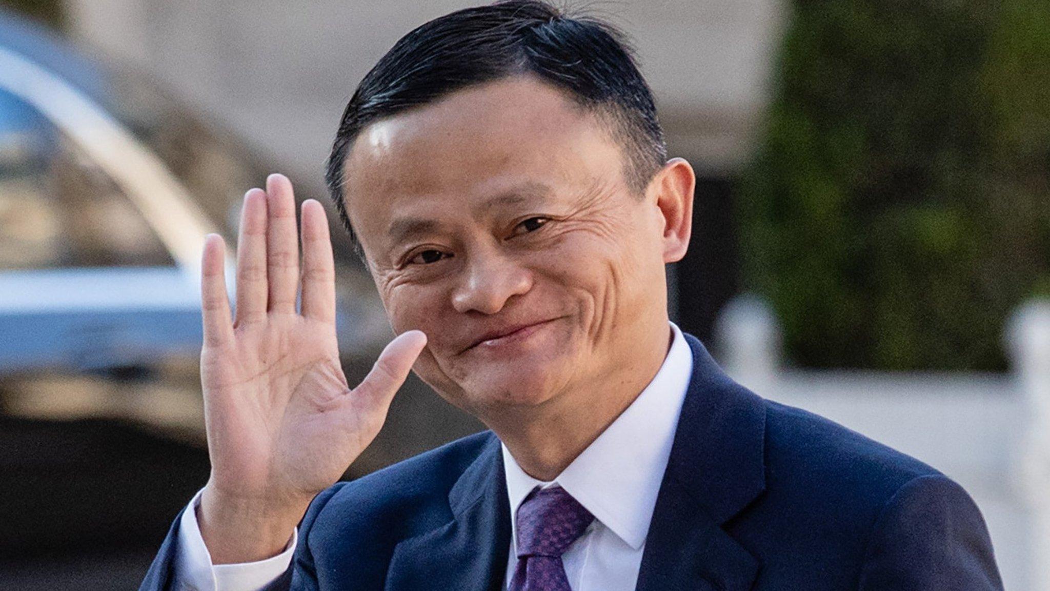 Jack Ma.   Image FT.com