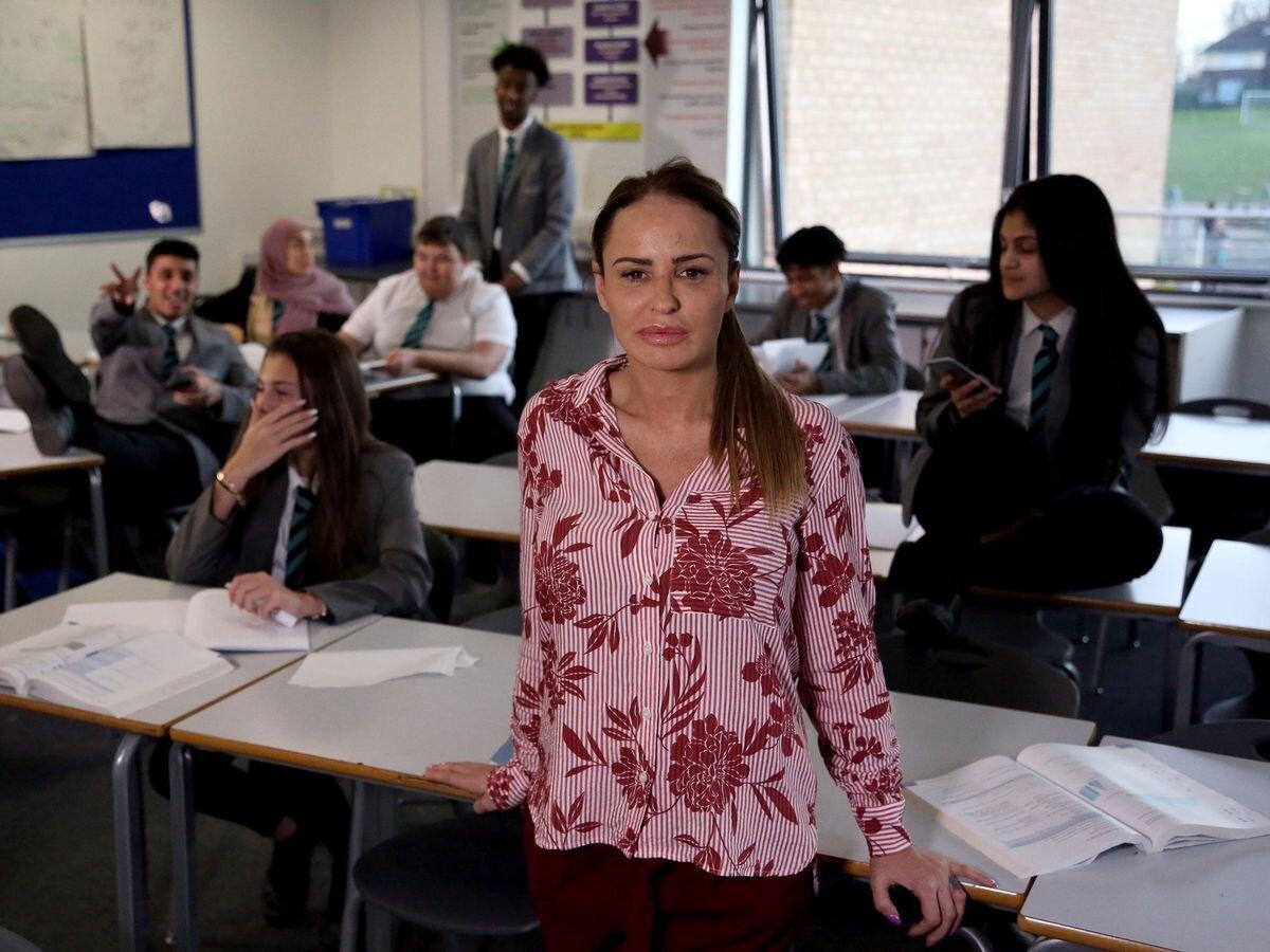 Kate Stewart Goes Undercover In Channel 4's 'The Secret Teacher'