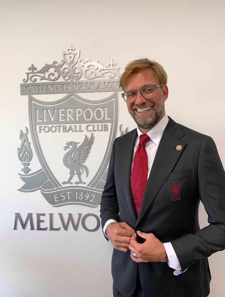 Liverpool FC Manager Jurgen Klopp Dressed By Signature Bespoke