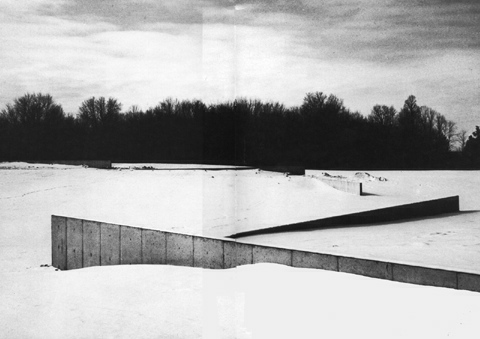 """Richard Serra Shift: """"Continuity produced by discontinuity"""""""