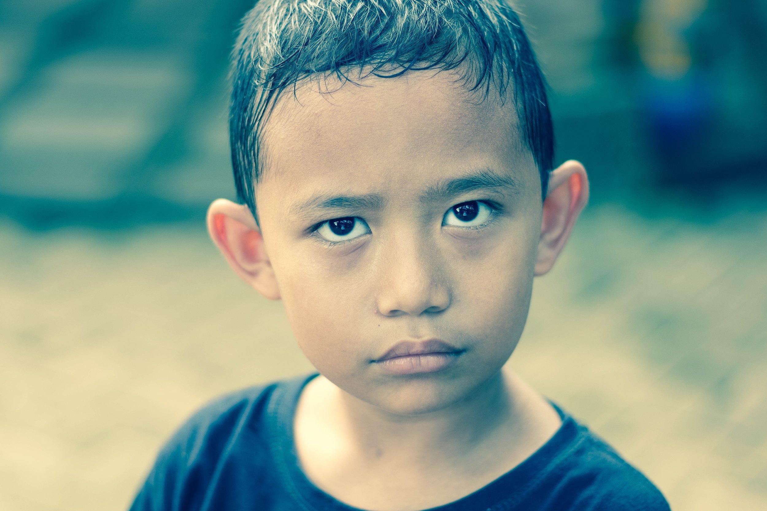 Niño de 8 años, Argentina
