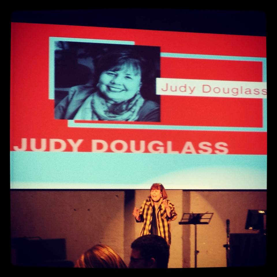 Sharing my passion for social media at an Indigitous conference in Canada.