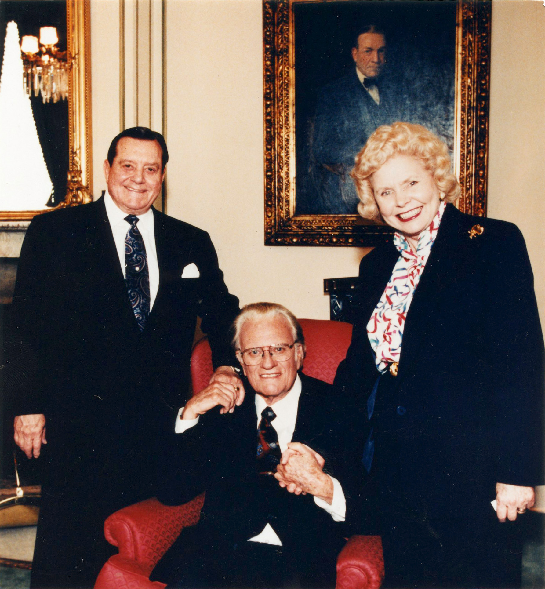 Bill Bright, Billy Graham, Vonette Bright