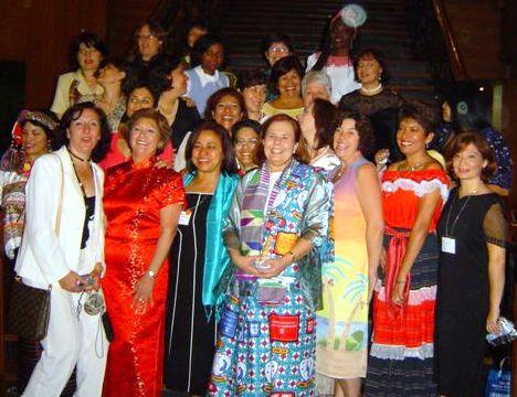 A few of the women attending the GWLF