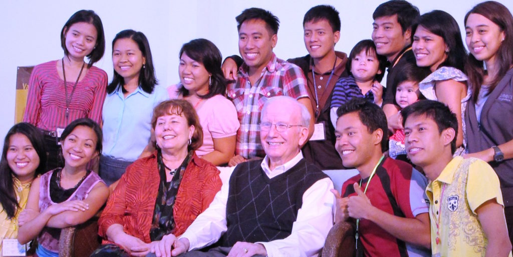 With new campus staff in the Philippines