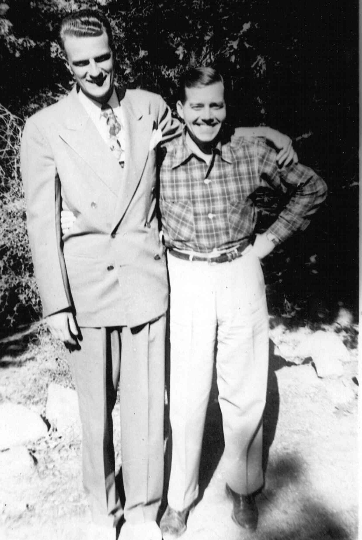 Billy Graham and Bill Bright at Forest Home