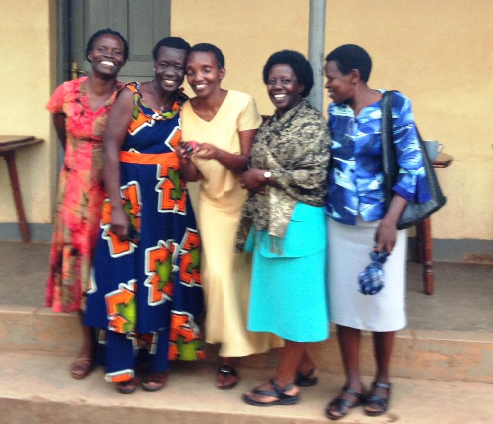 A few staff women