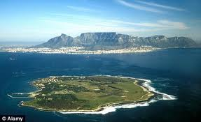Robben Island, with Capetown across the water