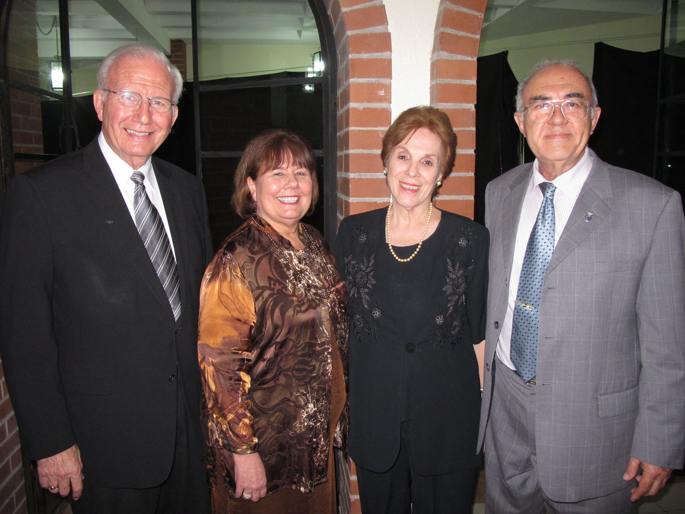 Steve and Judy Douglass with Olinda and Guillermo Luna