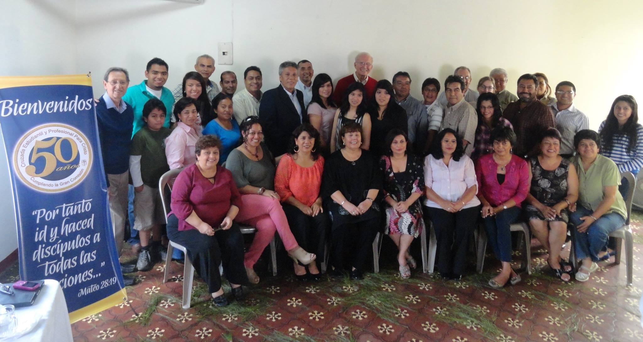 Some of the staff in Guatemala