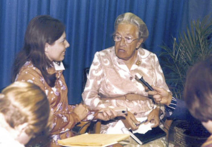 I interviewed Corrie ten Boom in 1976.