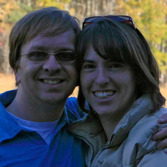 Jamie Rohrbaugh and her husband, Bruce