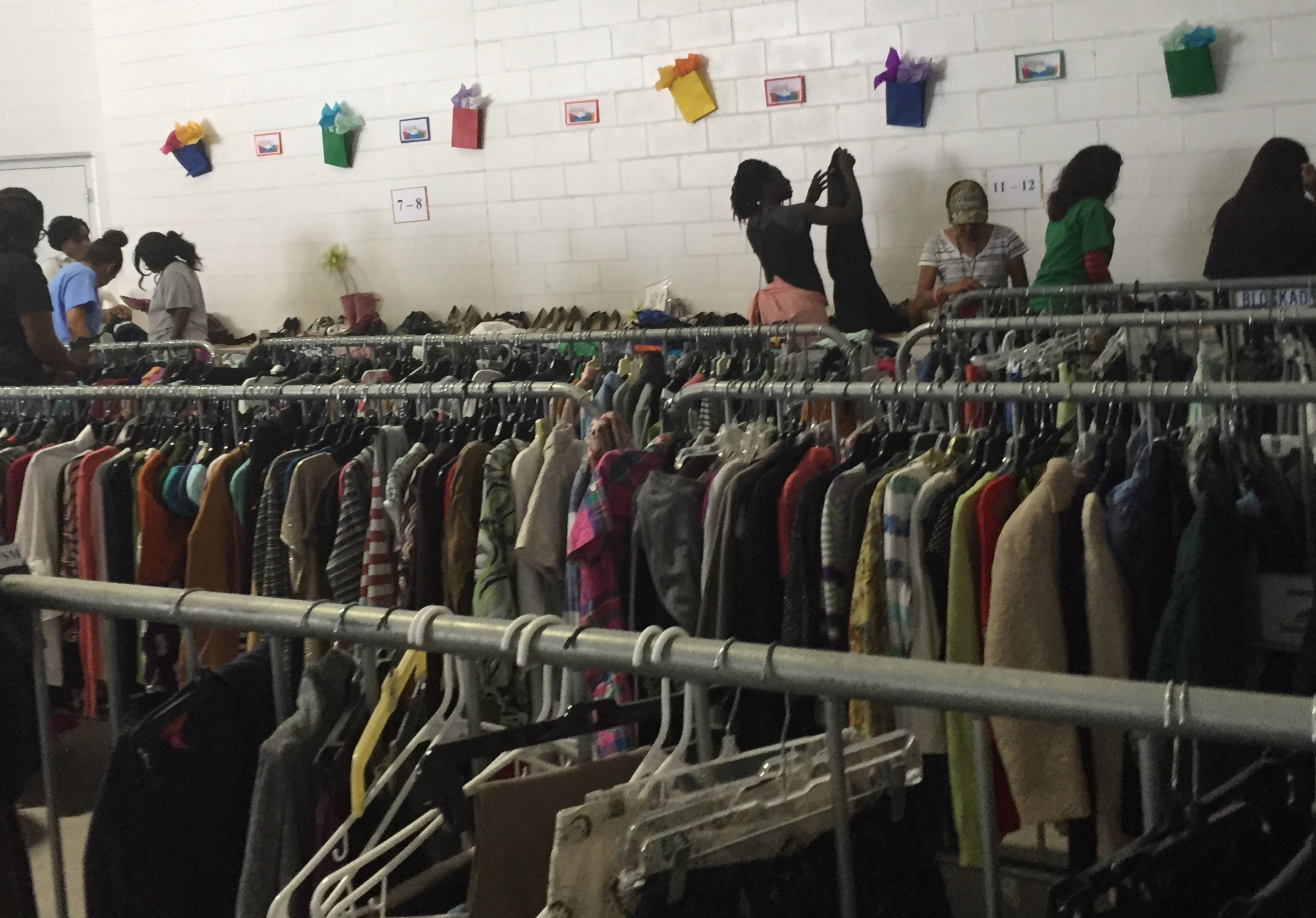 One of three thrift shops–all free