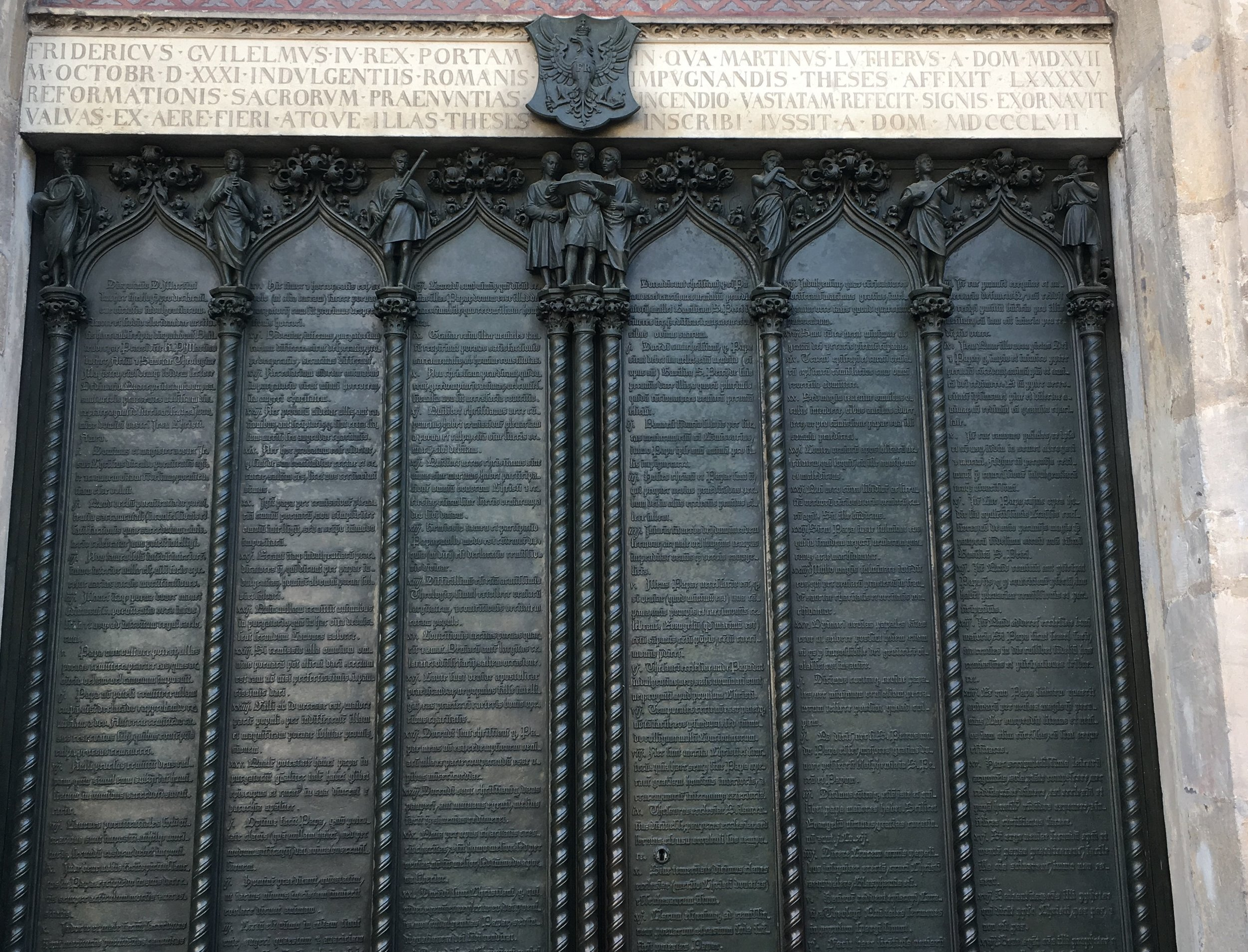 Wittenberg Theses Doors